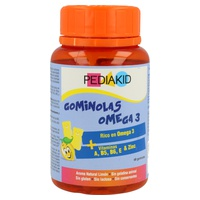 Pediakid gominolas omega 3 (sabor limón)