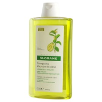 Citron pulp shampoo for frequent use