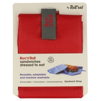 Porta Bocadillos Boc'n'Roll Square Rojo