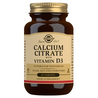 Citrate de calcium avec vitamine D3
