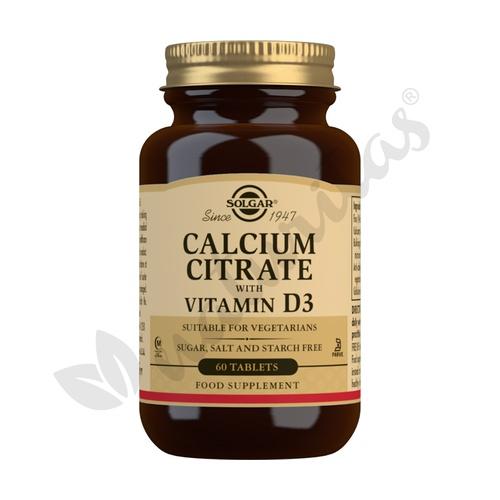 Citrato de Calcio con Vitamina D3