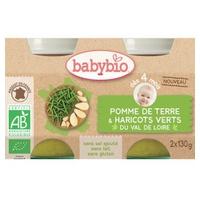 Boião Batatas e Feijão Verde Bio (a partir de 4 meses)