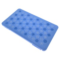 Rectangular Snow Blue Mask Storage Box