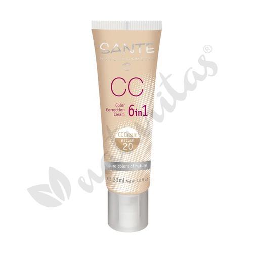 Maquillaje CC Natural 20  30 ml de Sante