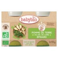 Petits Pots Pomme De Terre Epinards Bio (dès 4 mois)