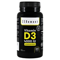 Vitamin D3 4000 UI 365 días