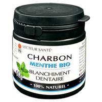 Charbon blanchiment dentaire menthe bio