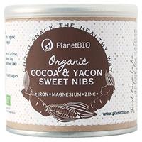 Nibs de Cacao y Yacon Bio
