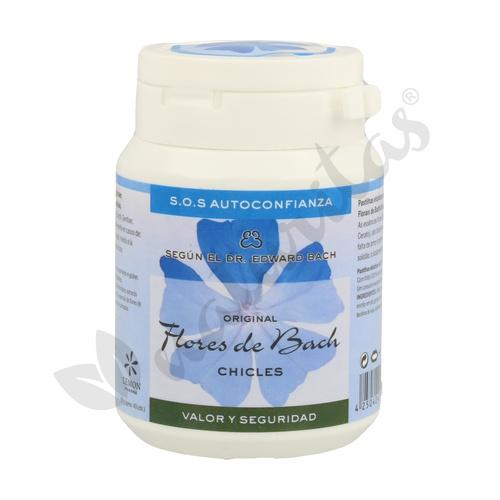 Chicle Flores De Bach Autoconfianza  40 Chicles de Lemon Pharma