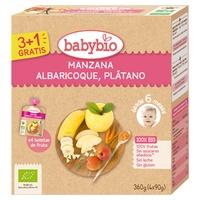Bolsita Manzana Albaricoque Plátano Bio