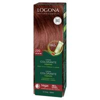 Crème colorante Lie de vin cheveux chatains