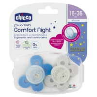 Soother Physio Comfort Lumi Boy Silicone 12m