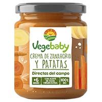 Puré de Zanahoria y Patatas Bio 6m+