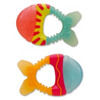 """""""Little Fish"""" Teether With Water"""