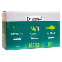Pack Keto Electrolitos + Magnesio + Omega 3