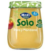 Hero Baby Solo Pera y manzana Eco