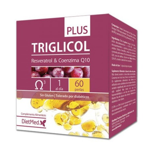 Triglicol Plus 60 perlas de Dietmed