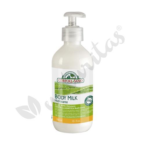 Body Milk Aloe y Centella Asiatica