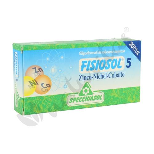 Fisiosol 5 Zinco, Nichel, Cobalto