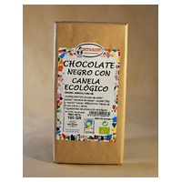 Chocolate Negro con Canela Ecológico