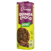 Bolachas Digestive Quinoa Choco 0% Adição de Açúcar