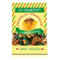 Caramelos de propoleo con mentol, eucalipto y miel