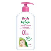 Love & Green Lait de toilette 500ml BIO