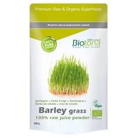 Barley Grass Raw Organic Barley