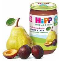 Słoik Organicznych Owoców Śliwki i Gruszki (4 miesiące)