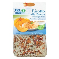 Pumpkin risotto - with miso