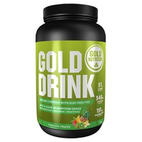Gold Drink (Sabor Frutas Tropicales) 1 kg de Gold Nutrition