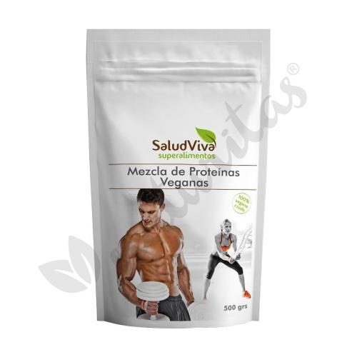 Mezcla de Proteinas Veganas 500 gr de Salud Viva