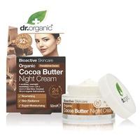 Organic Cocoa Butter Crema noche