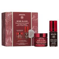 Cream + Anti-wrinkle Serum Lifting Effect Light Texture Wine Elixir