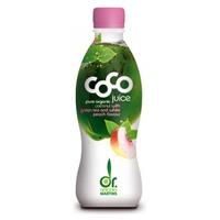 Agua Coco Drink Té Verde Melocotón