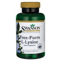 L-Lysine 500 mg Free-Form
