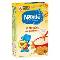 Pappa di 8 cereali con biscotti Maria +6mesi