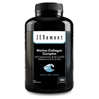 Complexe de collagène marin avec acide hyaluronique, CoQ10, vitamines C et E et zinc