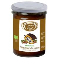 Crema Crudivegana de Avellanas y Cacao Bio
