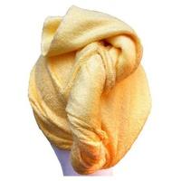 Toalla de bambú para el pelo Amarilla