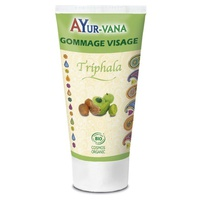 Organic face scrub with Triphala