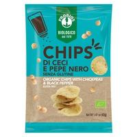 Chipsy Z Ciecierzycy I Czarnego Pieprzu