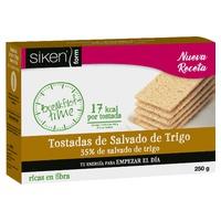 Siken Form breakfast time tostadas de salvado de trigo