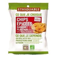 Chips de Plátano Salados Bio