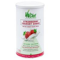 Batido de substituição de proteínas com sabor a morango VNDiet