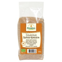 Cuscús de quinoa y espelta