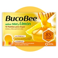 Cinfa bucobee miel y limón