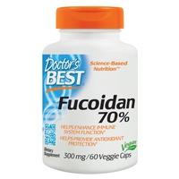Fucoidan 70%, 300 mg