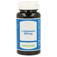 L-Glutamina 60 cápsulas de 500 mg de Bonusan