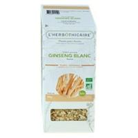 Organic white ginseng root